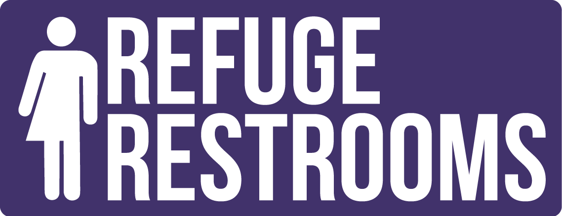 REFUGE Restrooms logo
